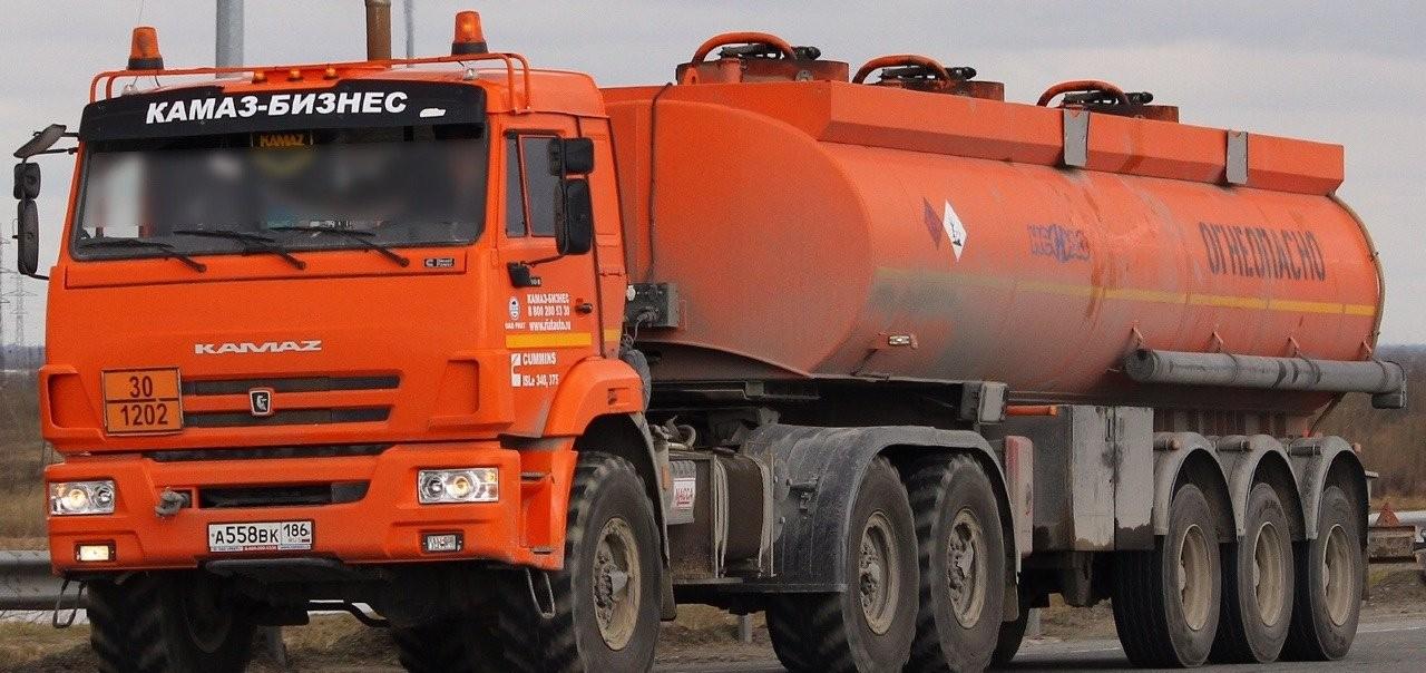 Доставка топлива цистерной бензовозом - Сургут
