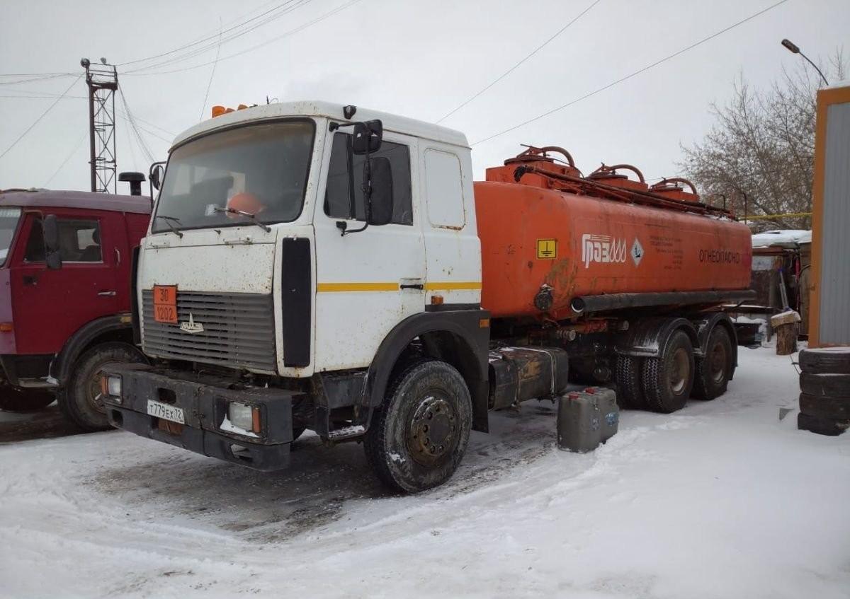 Доставка топлива цистерной бензовозом, топливозаправщика - Тюмень